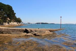 Zeebaars vissen Pointe d'Arradon