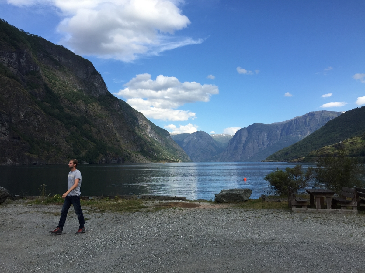Vissen in Aurlandsfjord - Flåm