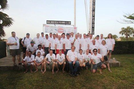 Deelnemers PENN Challenge 2012