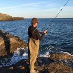 South Devon Bass fishing