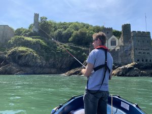 Dartmouth Castle fishing