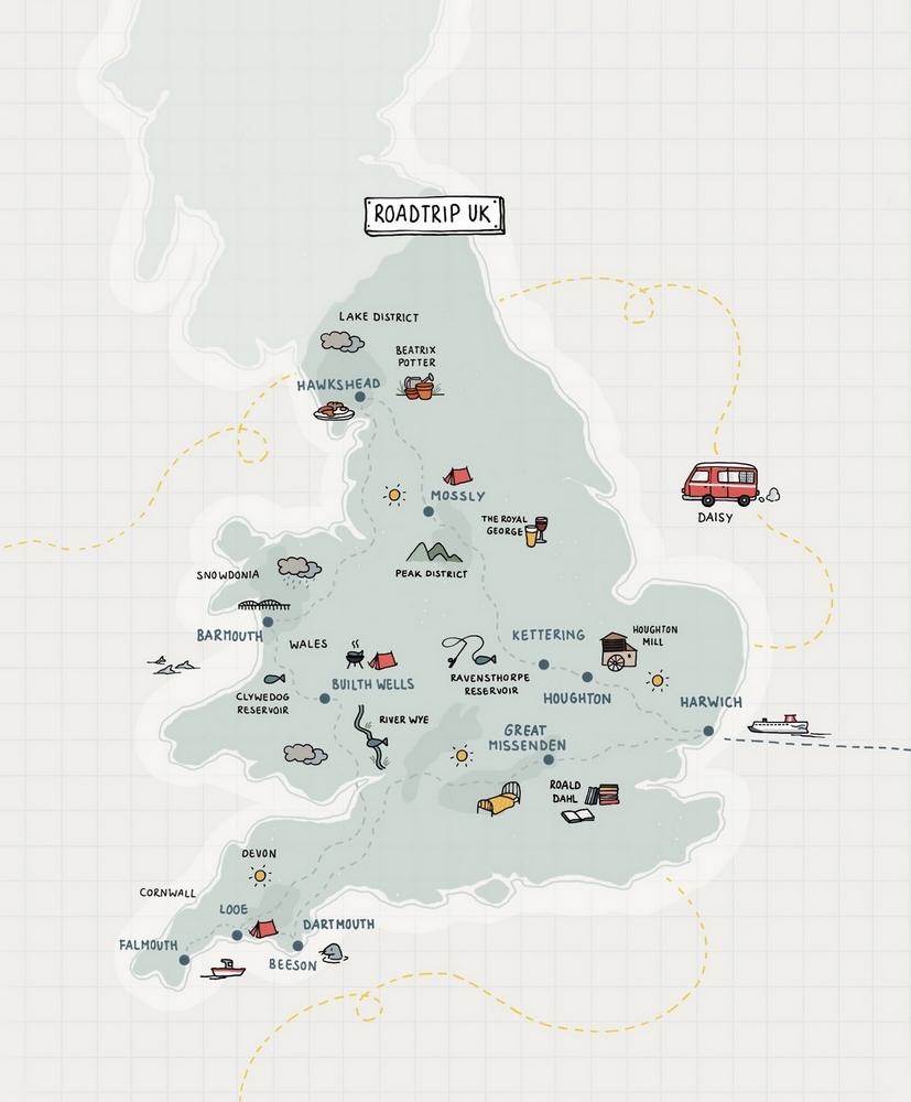 (Vis)vakantie in Engeland/Wales